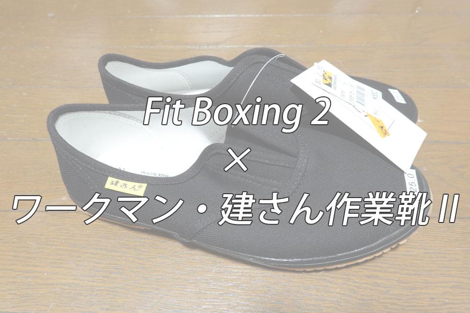 ワークマン・建さん作業靴Ⅱ